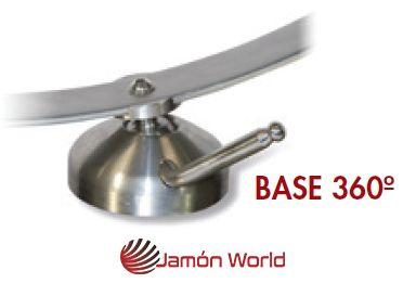 Jamonero giratorio rotatorio 360 pieza rotatoria Jamon World