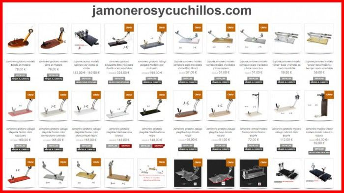 Comprar jamonero online jamoneros y cuchillos