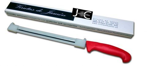 Cuchillo jamonero anti-accidentes