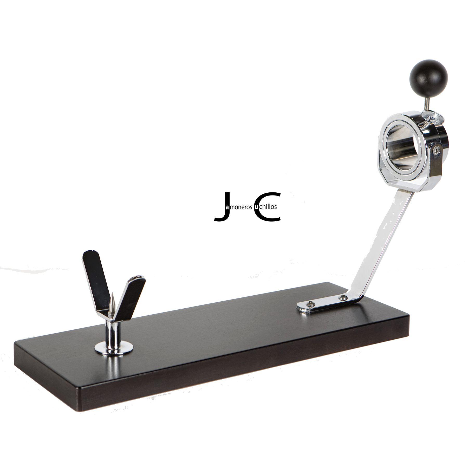 Jamonero modelo Jabugo haya lacado wengue (Mesa)