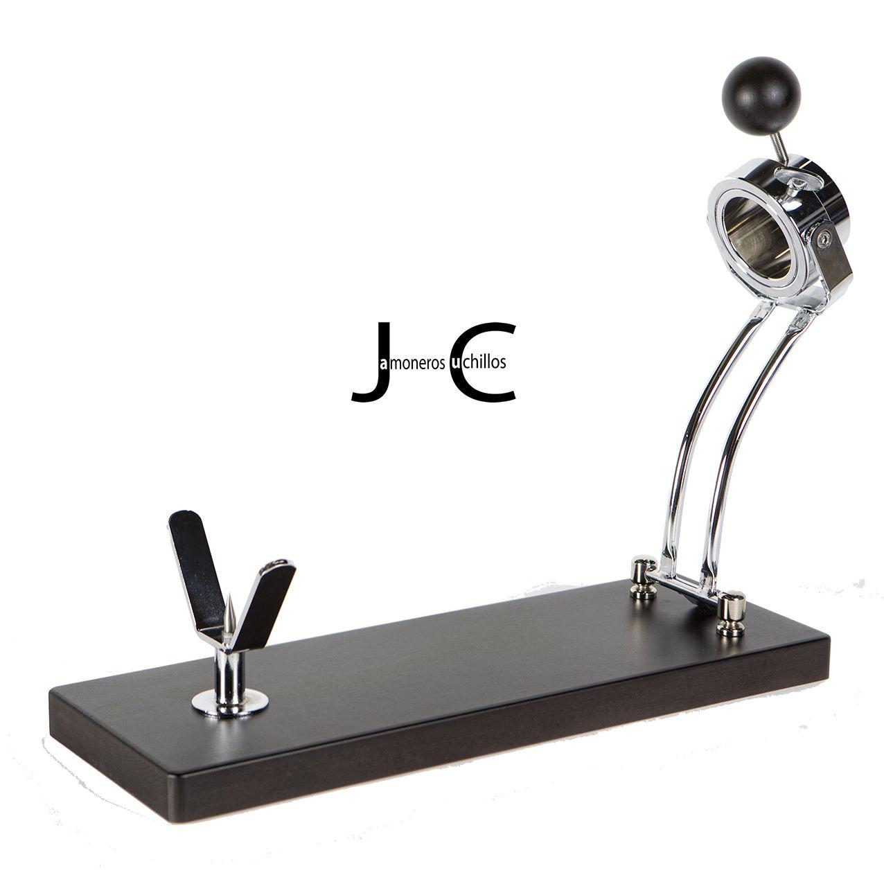Jamonero modelo Jabugo plegable haya lacado wengue (Mesa)