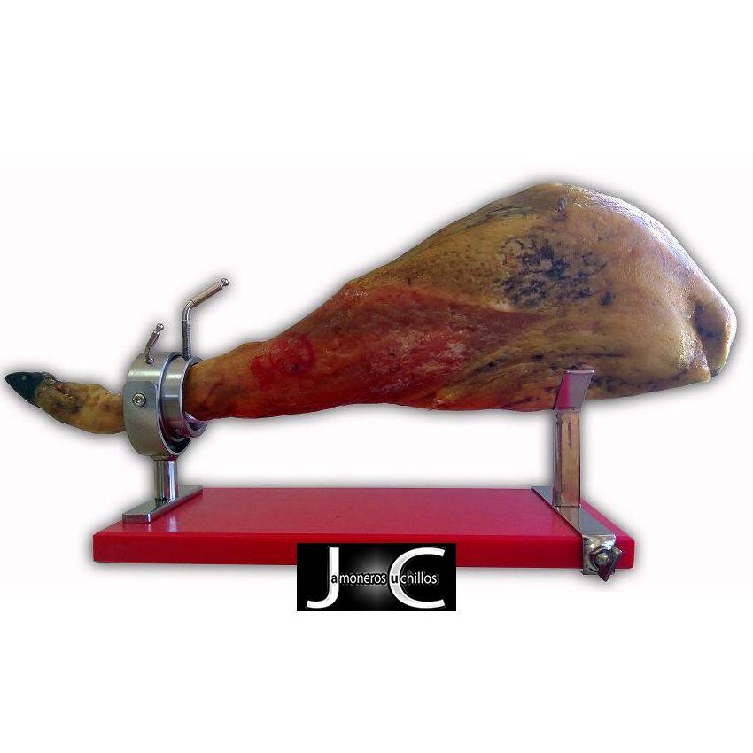 Soporte jamonero giratorio modelo olimpico Virutas Jamón