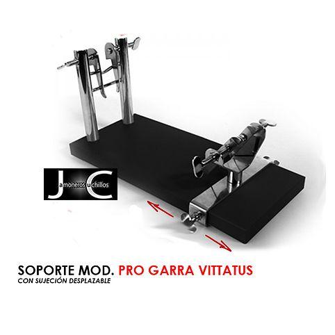 Soporte jamonero modelo pro garra vittatus de Virutas Jamón
