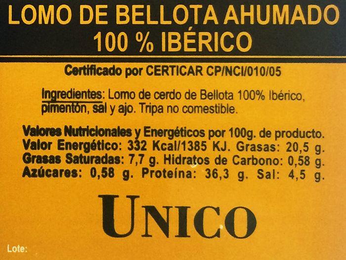 lomo iberico ahumado nueva norma cerdos ibericos
