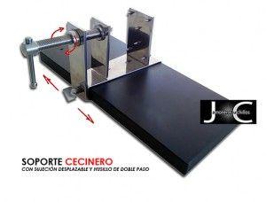 soporte jamonero giratorio modelo cecina virutas de jamon