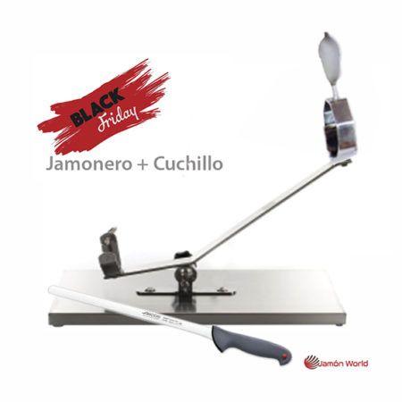 Jamonero balancin 17805 con cuchillo black friday 2017 regalo