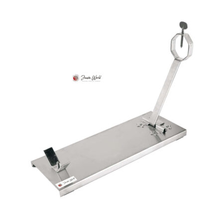 Jamonero plegable acero inox base acero inoxidable