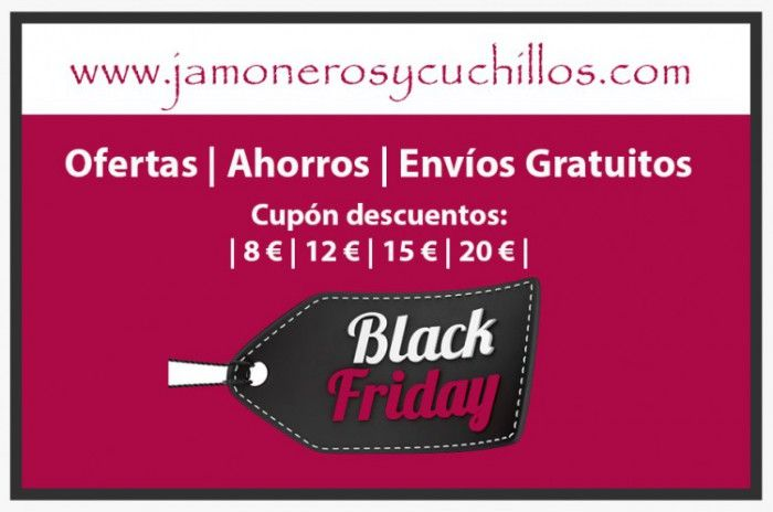 Black Friday 2015 jamoneros cuchillos