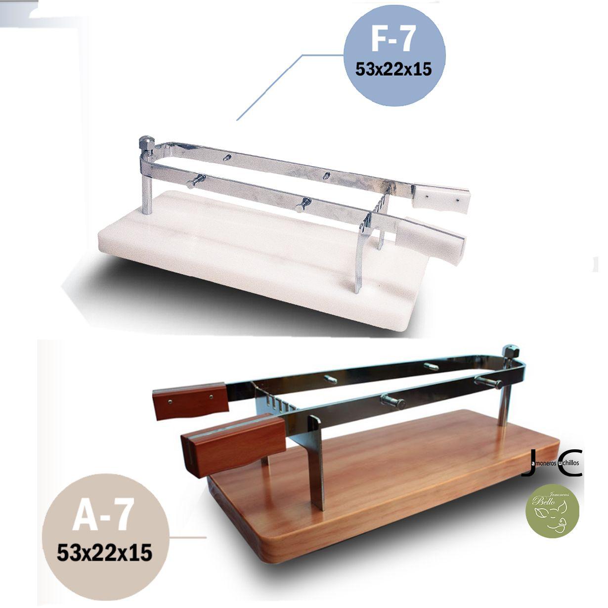 jamonero bello pinza madera fibra A-7_F7
