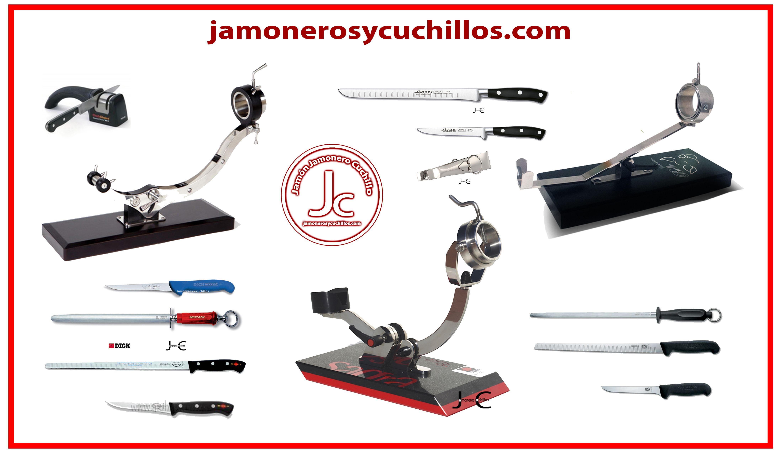 jamoneros y cuchillos profesionales de calidad