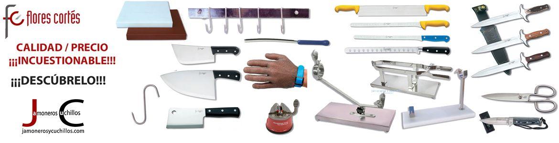 jamoneros y cuchillos online flores cortes