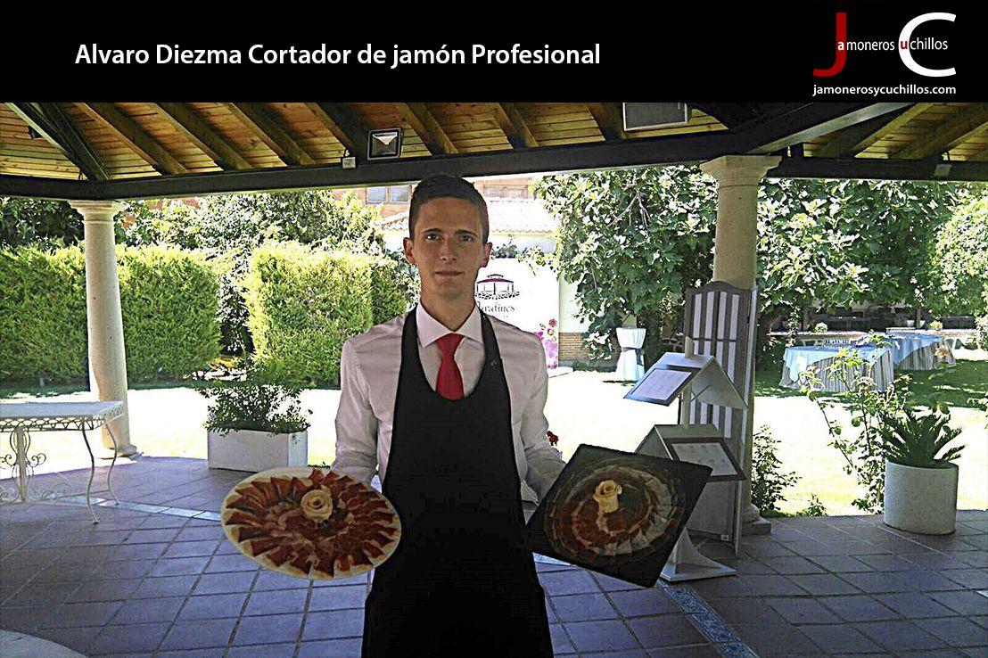 Alvaro Diezma Cortador de jamón Profesional Toledo