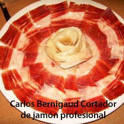 Carlos Bernigaud cortador jamón Barcelona 2