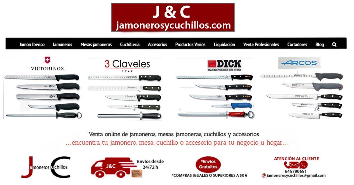 cuchilleria online jamoneros y cuchillos