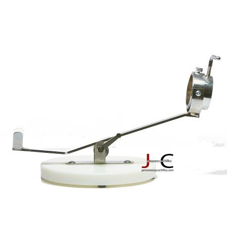 jamonero A9 giratorio base redonda de fibra
