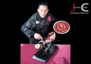 Jorge Bertol Garíia cortador de jamón profesional