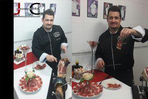 Raúl Freire cortador jamon Galicia 4