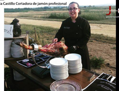 Sonia Castillo Cortadora de jamón
