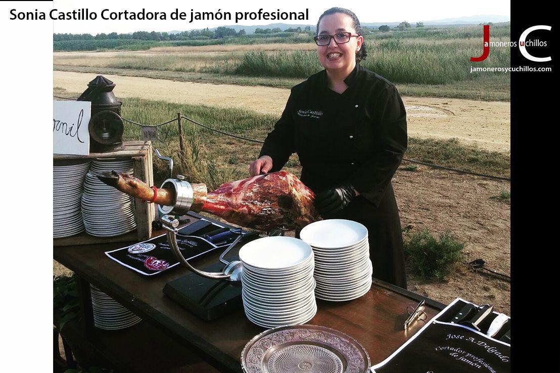 Sonia Castillo Cortadora de jamón Profesional Cataluña