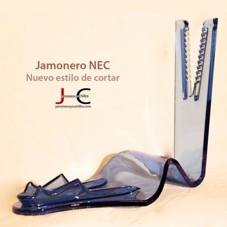 Jamonero NEC color azul