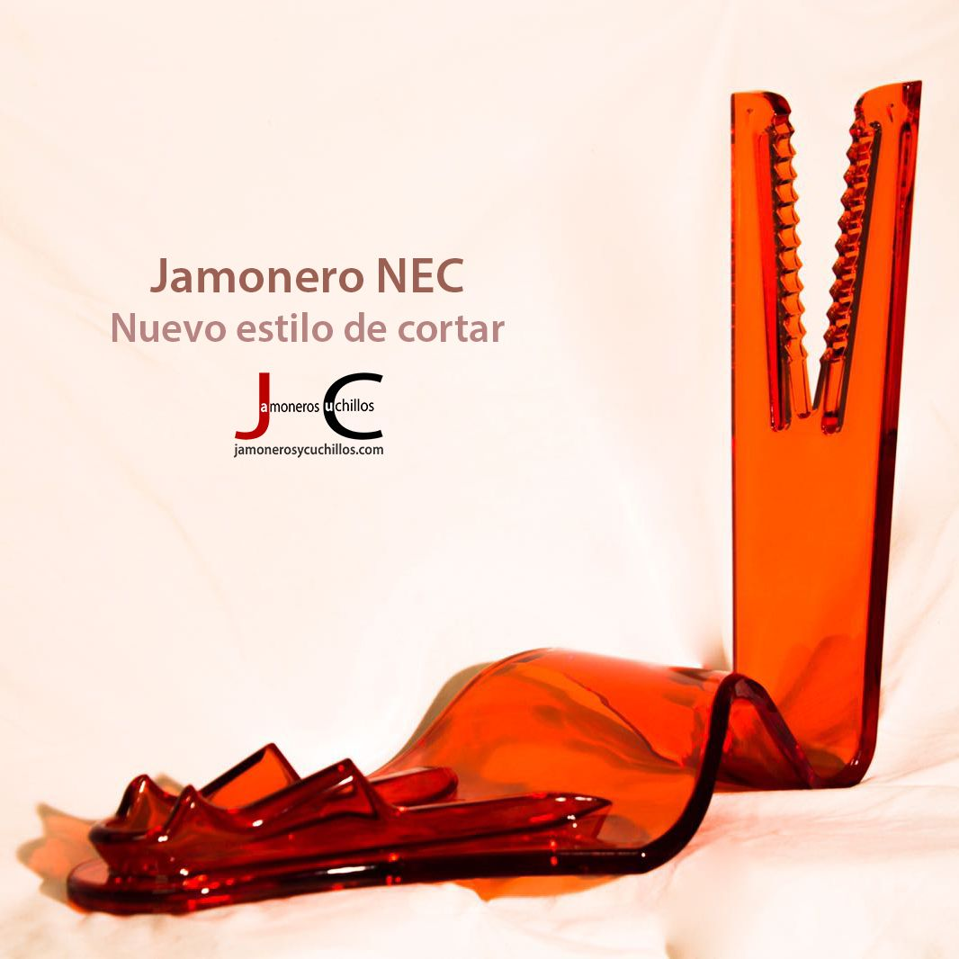 Jamonero NEC color rojo