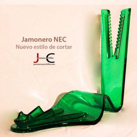 Jamonero NEC color verde