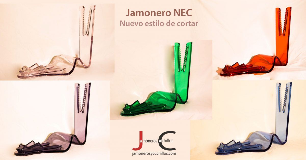 Jamonero NEC y jamonero y cuchillos