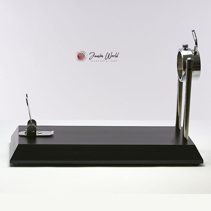 Jamonero Serie 5 bello giratorio en negro
