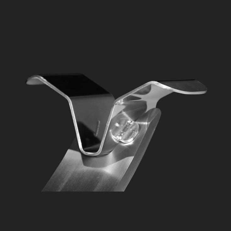 Pieza en V jamoneros Steel O detalle