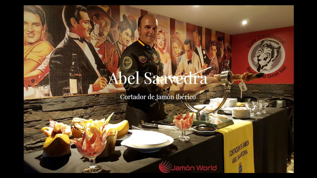 ABEL SAAVEDRA Cortador de jamón Asturias