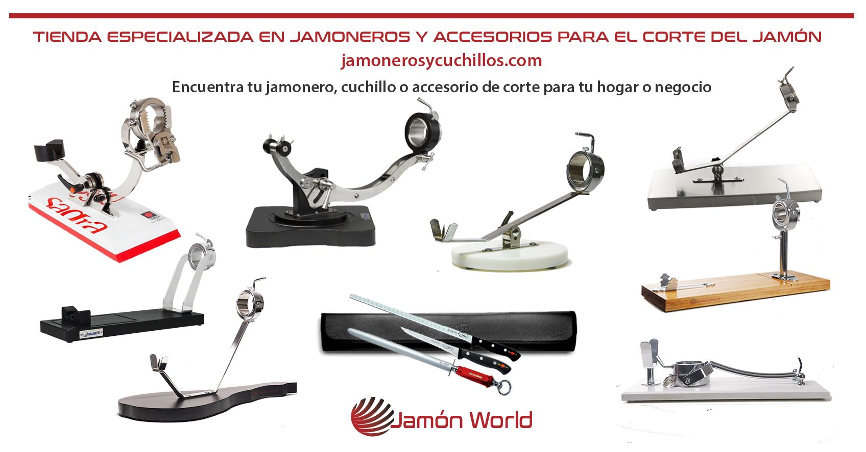 jamoneros tienda especializada jamon world