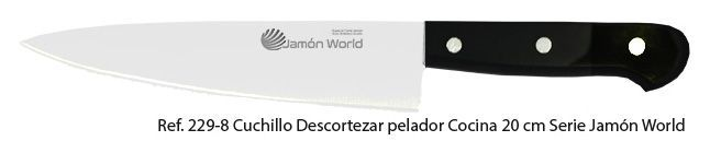 cuchillo descortezar de jamón World