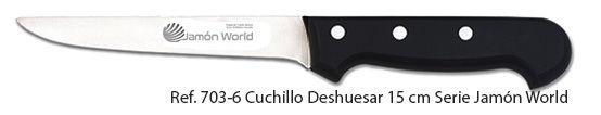 cuchillo deshuesador de jamón World