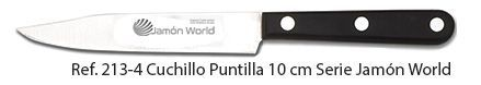 cuchillo puntilla jamón World