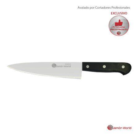 Cuchillo cocina descortezar Jamón World