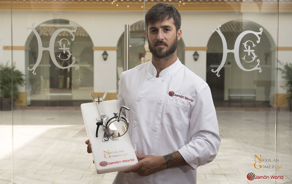 Nicolas Gomez Chef Jamón World _ portada