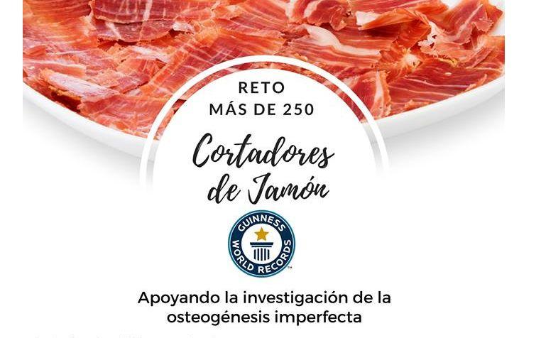 RETO MAS DE 250 CORTADORES DE JAMON Y JAMÓN WORLD portada