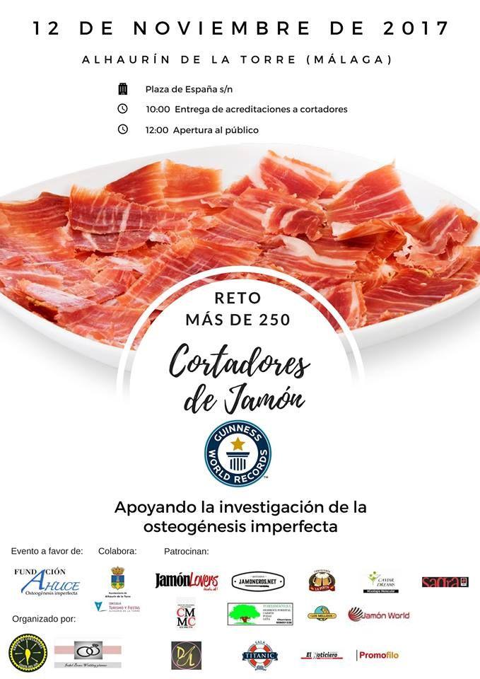 RETO MAS DE 250 CORTADORES DE JAMON Y JAMÓN WORLD