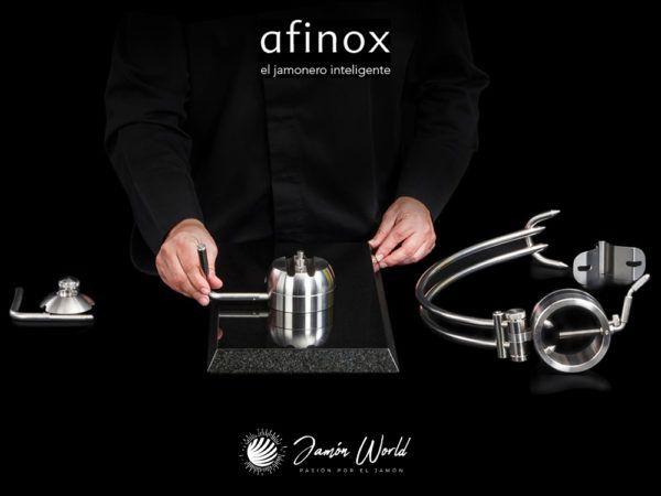 Jamonero-Afinox-Pectus-360-rotatorio-montaje