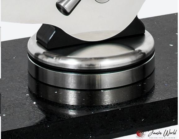 Jamonero Champions silestone negro Buarfe 4442 detalle pieza rotacion