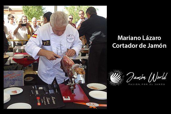 Mariano Lázaro Cortador de Jamón profesional de madrid