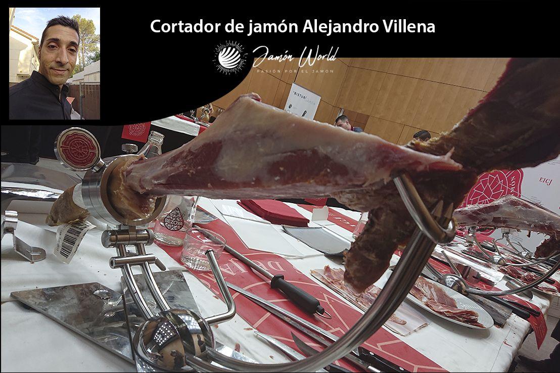 Alejandro villena cortador de jam n jamoneros y cuchillos for Cuchillo descortezador
