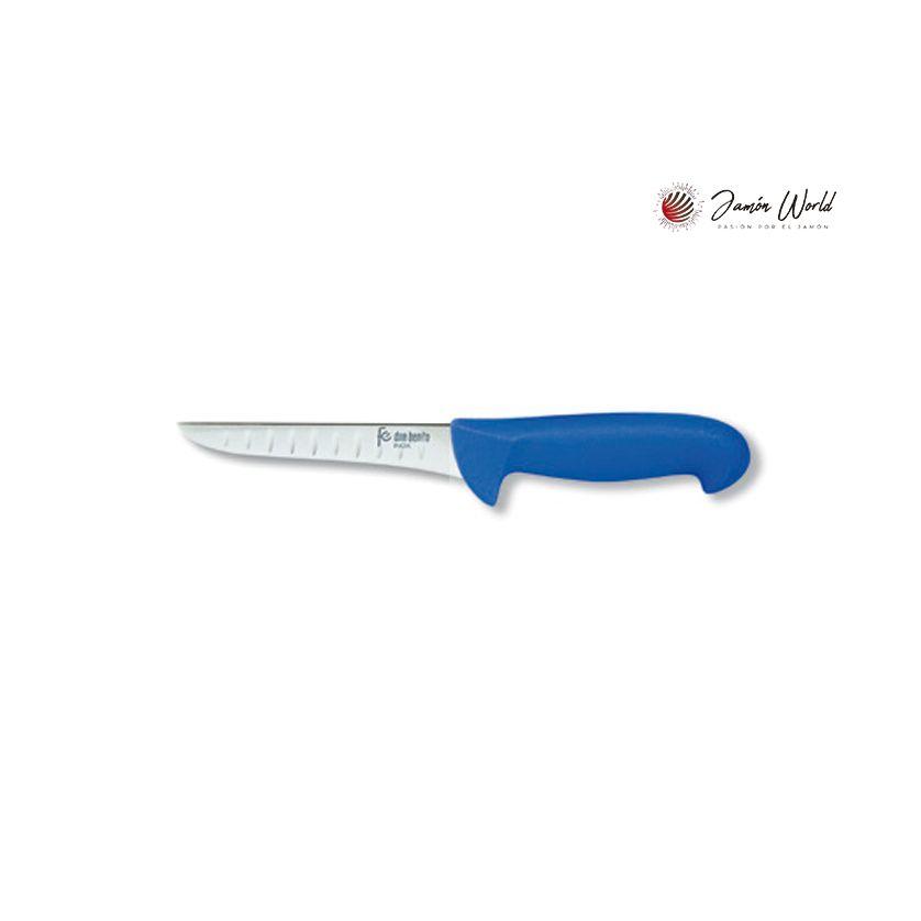 Cuchillo de deshuesar con alveolos 130 mms Flores cortes 22578