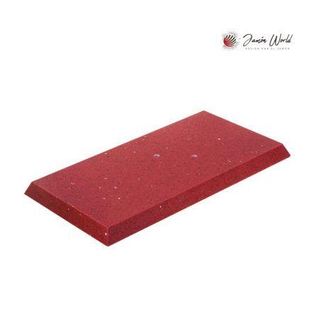 Base silestone rojo estelar jamonero Afinox