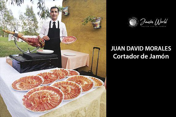 Juan David Cortador de Jamón profesional madrid