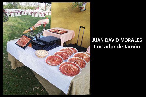 Juan David Cortador Jamón profesional