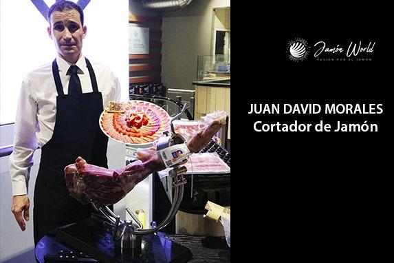 Juan David Morales Cortador de Jamón profesional en madrid
