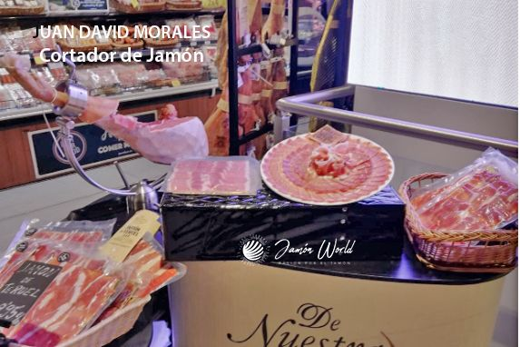 Juan David Morales Cortador de Jamón profesional