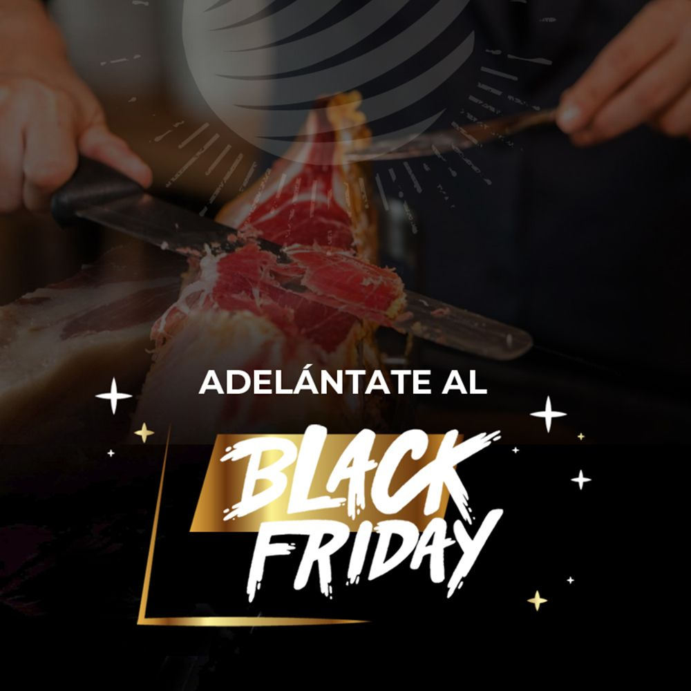 Black Friday 2019 jamon world entrada