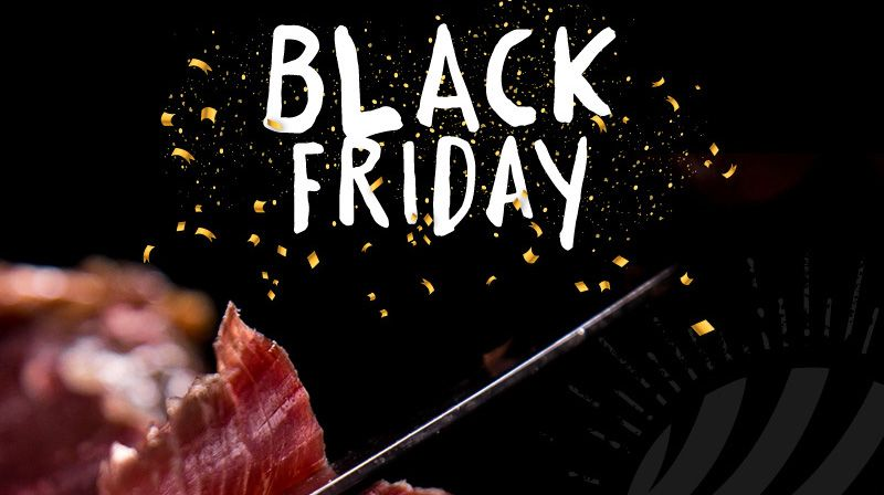 Black Friday 2020 en Jamoneros jamón World ofertas